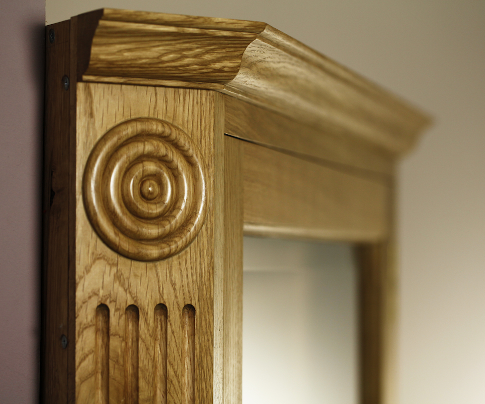 Corner Cupboard Detail